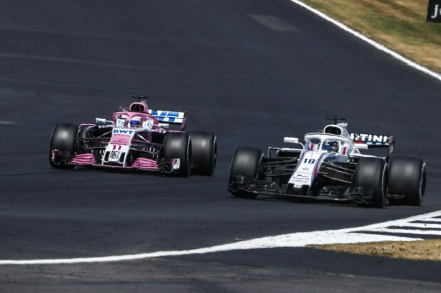 Sergio Perez Lance Stroll Force India Sahara Force India F1 Team F1Williams Williams Martini Racing F1 ~Sergio Perez (Force India) und Lance Stroll (Williams) ~