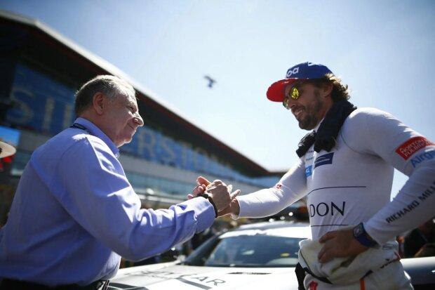 Jean Todt Fernando Alonso McLaren McLaren F1 Team F1 ~Jean Todt und Fernando Alonso (McLaren) ~
