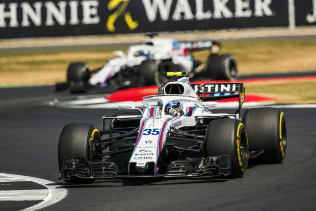 Sergei Sirotkin Lance Stroll Williams Williams Martini Racing F1 ~Sergei Sirotkin (Williams) und Lance Stroll (Williams) ~