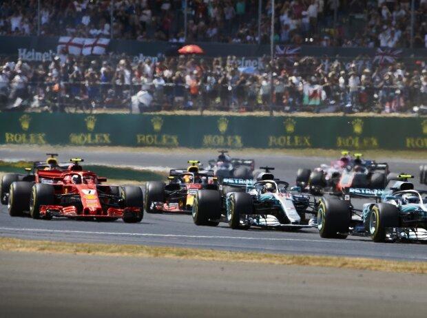 Valtteri Bottas, Lewis Hamilton, Kimi Räikkönen