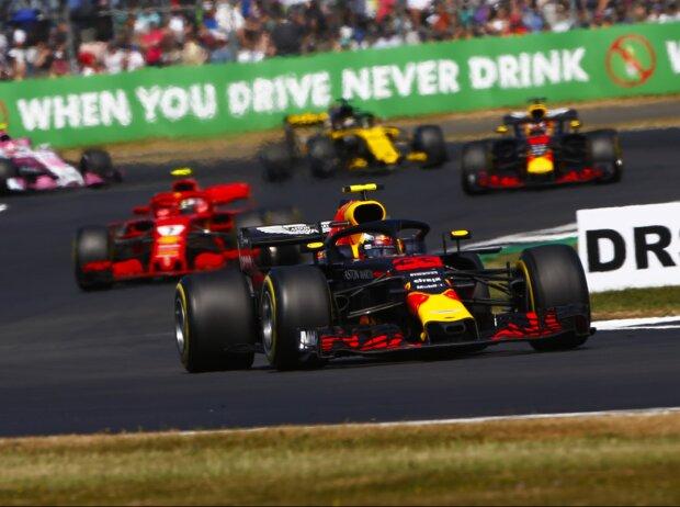 Max Verstappen, Kimi Räikkönen, Daniel Ricciardo