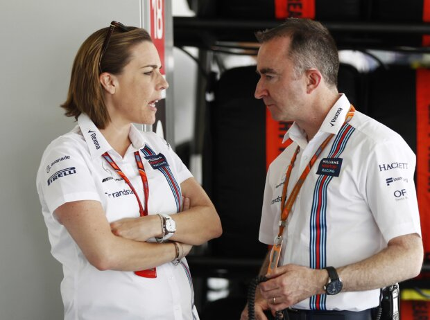 Claire Williams und Paddy Lowe