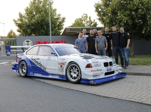 Bmw 320 Judd V8 Georg Plasas Legende Vor Comeback