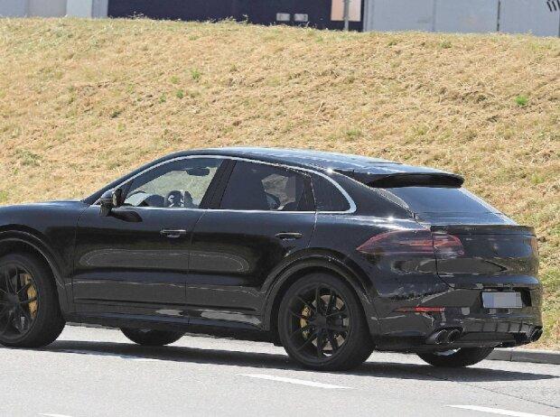 Porsche Cayenne Coupé Erlkönig 2018