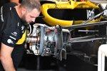 Vorderradaufhängung des Renault
