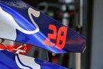 Motorabdeckung des Toro Rosso
