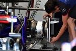 Hintere Bremse des Toro Rosso