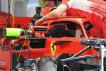 Halo und Rückspiegel Ferrari