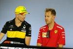 Nico Hülkenberg und Sebastian Vettel