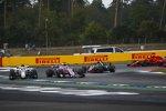 Charles Leclerc (Sauber) und Sergio Perez (Force India)