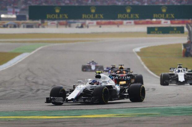 Sergei Sirotkin Lance Stroll Williams Williams Martini Racing F1 ~Sergei Sirotkin (Williams) und Lance Stroll (Williams) ~