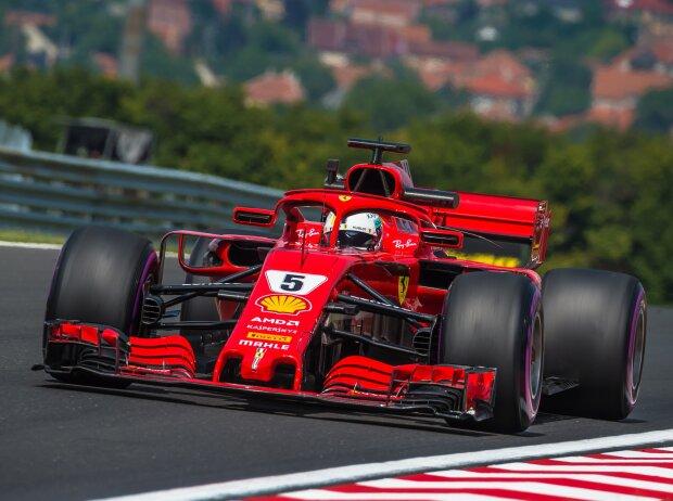 Formel 1 Ungarn 2018 Ferrari Nur Knapp Vor Mercedes