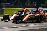 Fernando Alonso (McLaren) und Daniel Ricciardo (Red Bull)