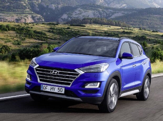 hyundai tucson facelift 2018 test alle bilder daten. Black Bedroom Furniture Sets. Home Design Ideas