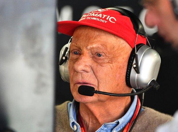 Niki Lauda in kritischem Zustand