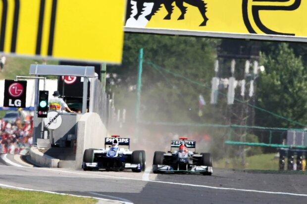 Michael Schumacher Rubens Barrichello Williams Williams Martini Racing F1 ~Michael Schumacher und Rubens Barrichello ~