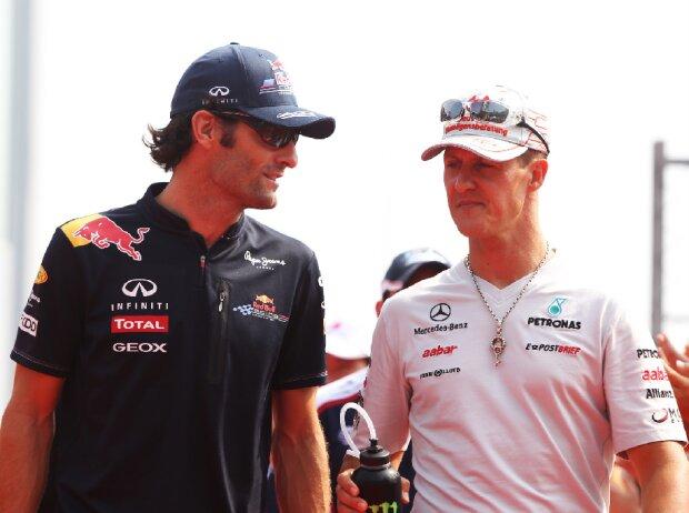 Michael Schumacher, Mark Webber