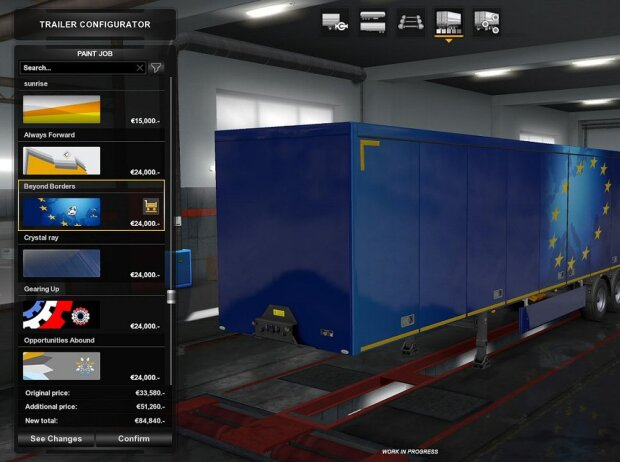 Euro Truck Simulator 2 Buy Garage