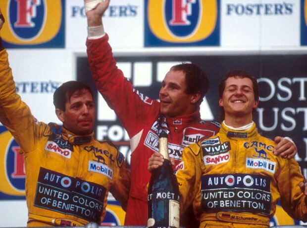 Gerhard Berger, Michael Schumacher