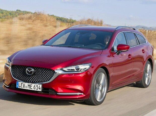 Der Neue Mazda 6 2018 Kombi Test Umfangreiche Aufwertung