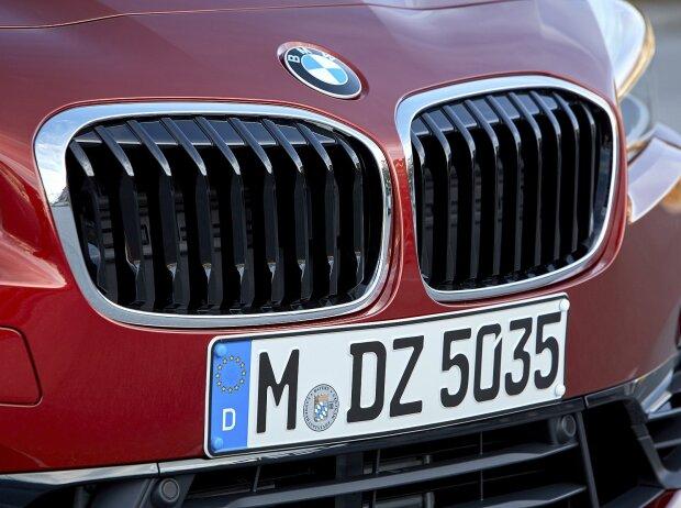 BMW-Front mit Nieren-Grill