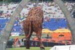 Bulle auf dem Red-Bull-Ring