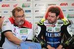 Christophe Bourguignon und Cal Crutchlow (LCR)