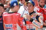 Marc Marquez (Honda) und Jorge Lorenzo ()
