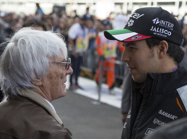 Bernie Ecclestone, Sergio Perez