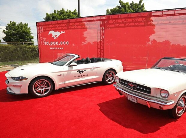 Ford feiert 2018 10 Millionen Mustang