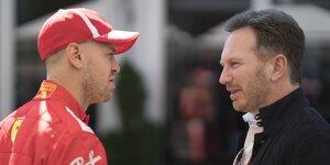 Sebastian Vettel und Christian Horner verstehen sich noch immer gut