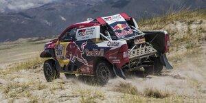 Toyota jagt weiterhin dem ersten Sieg bei der Rallye Dakar hinterher