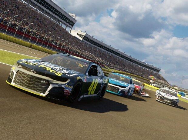 Screenshot: NASCAR Heat 3