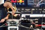 Rückspiegel von Red Bull