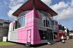 Motorhome von Force India