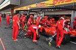 Boxenstopp-Training bei Ferrari