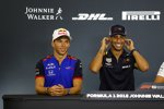 Pierre Gasly (Toro Rosso) und Daniel Ricciardo (Red Bull)