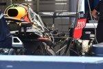 Heckflügel von Red Bull