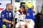 Cal Crutchlow und Valentino Rossi