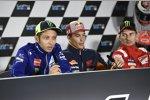 Valentino Rossi, Marc Marquez und Jorge Lorenzo