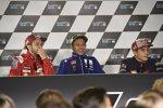 Andrea Dovizioso Valentino Rossi und Marc Marquez
