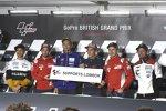 Alvaro Bautista (Angel Nieto), Andrea Dovizioso (Ducati), Marc Marquez (Honda), Jorge Lorenzo (Ducati) und Cal Crutchlow (LCR)