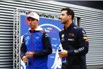 Daniel Ricciardo (Red Bull) und Pierre Gasly (Toro Rosso)