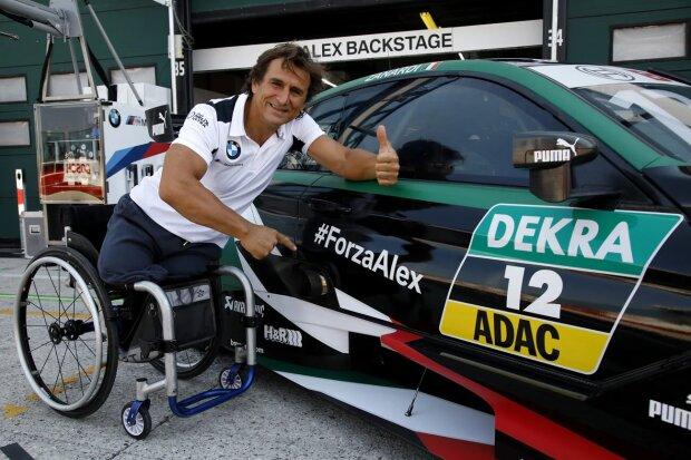 Alessandro Zanardi RMR-BMW BMW Team RMR NUR FÜR GESAMTWERTUNG! ~Alessandro Zanardi ~