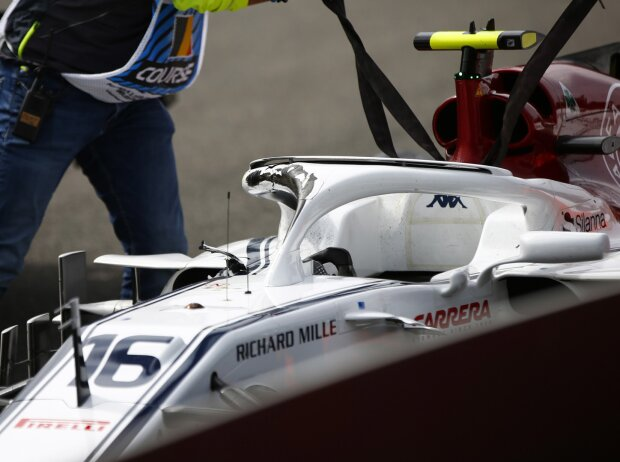 Charles Leclerc, Fernando Alonso