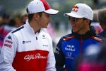 Charles Leclerc (Sauber) und Pierre Gasly (Toro Rosso)
