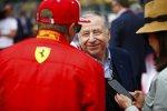 Jean Todt und Kimi Räikkönen (Ferrari)