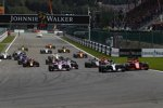 Lewis Hamilton (Mercedes), Sebastian Vettel (Ferrari), Esteban Ocon (Racing Point), Sergio Perez (Racing Point), Romain Grosjean (Haas) und Kimi Räikkönen (Ferrari)