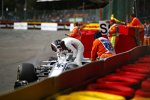 Charles Leclerc (Sauber) und Fernando Alonso (McLaren)