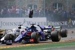 Brendon Hartley (Toro Rosso) und Lance Stroll (Williams)